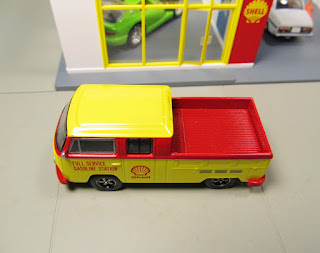 GreenLight  1976 Shell Oil Volkswagen Type 2 T2 Double Cab Pick-up