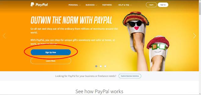Syarat Membuat Akun PayPal Dan Cara Membuat Akun Paypal