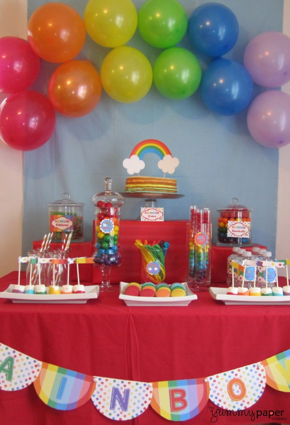 Rainbow party video