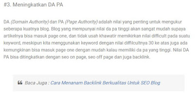 Cara Membuat Internal Link di Posting Blog