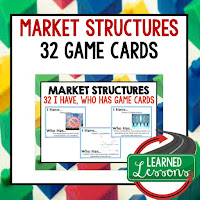 Market Structures, Free Enterprise, Economics, Free Enterprise Lesson, Economics Lesson, Free Enterprise Games, Economics Games, Free Enterprise Test Prep, Economics Test Prep
