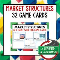 Market Structures, Free Enterprise, Economics, Free Enterprise Lesson, Economics Lesson, Free Enterprise Games, Economics Games, Free Enterprise Test Prep, Economics Test Prep