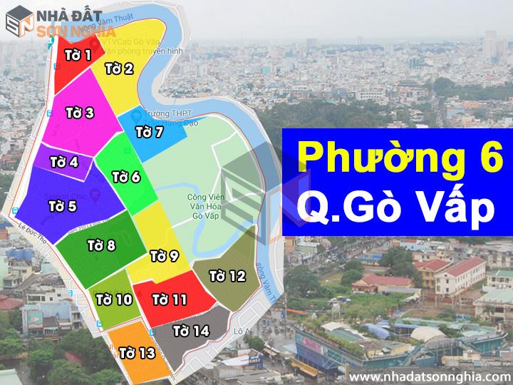 Thông tin quy hoạch bản đồ phường 6 quận Gò Vấp