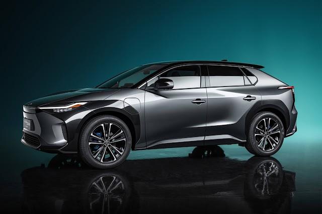 "MOTOR. El Toyota bZ4X Concept lidera la línea EV ""bz"""