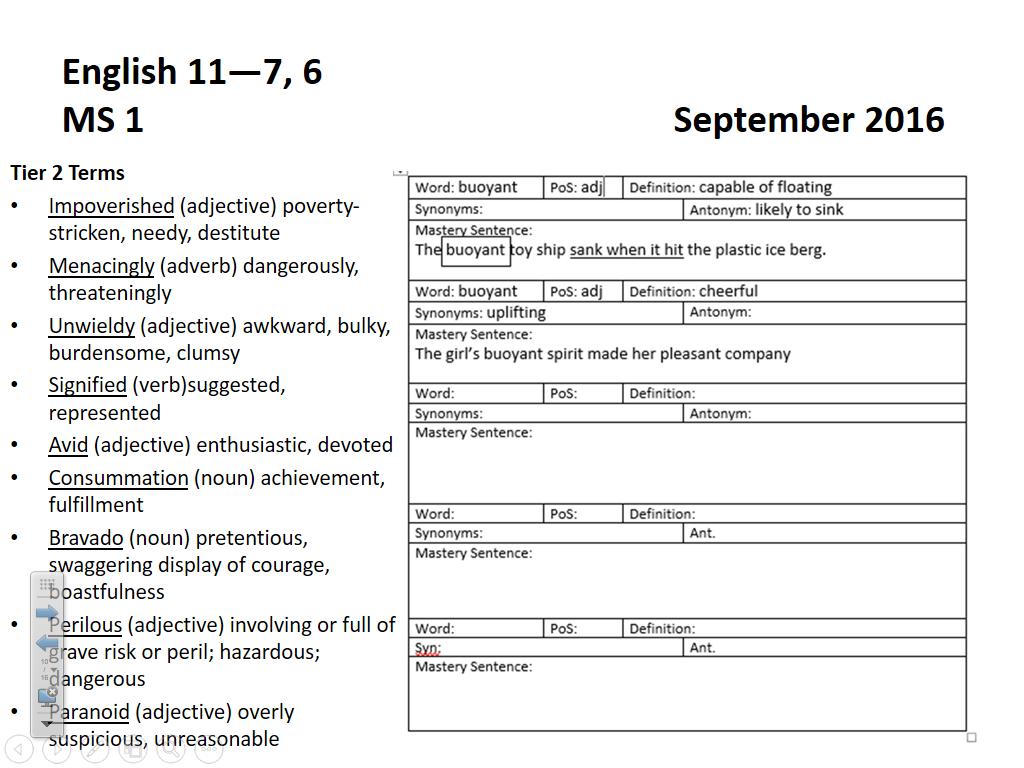 Rhetor's Retreat: September 2016