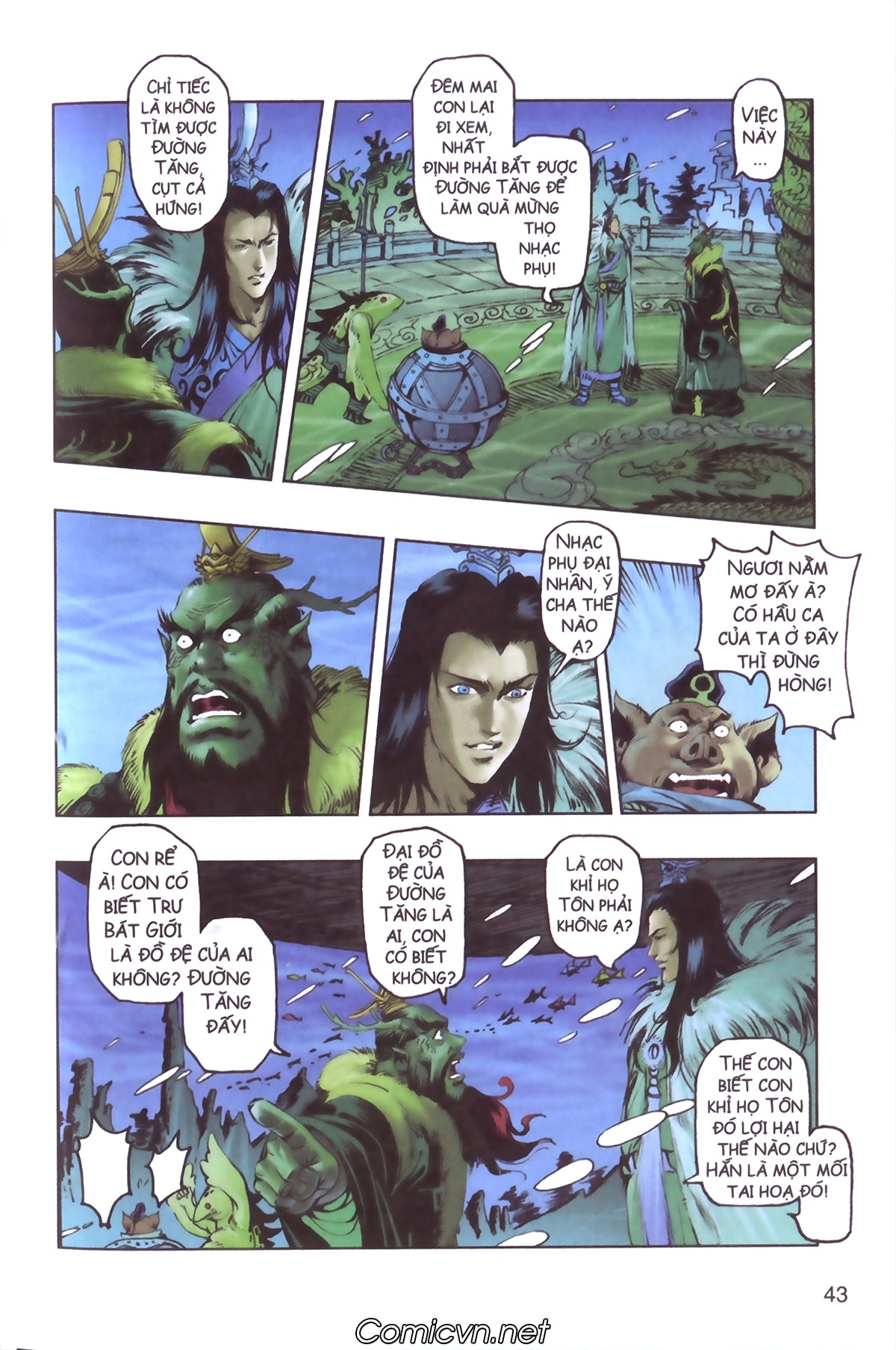 Tây Du Ký màu - Chapter 111 - Pic 3