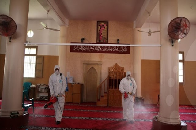 الأوقاف بغزة: قرار فتح المساجد فقط لأداء صلاة الجمعة