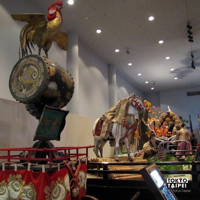 【山車展示館】7部山車 重現百年前弘前八幡宮祭典