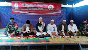 MPTTI dan Masyarakat Melaksanakan Zikir Tolak Bala Covid-19 Sekaligus Menyambut HUT RI Ke-75