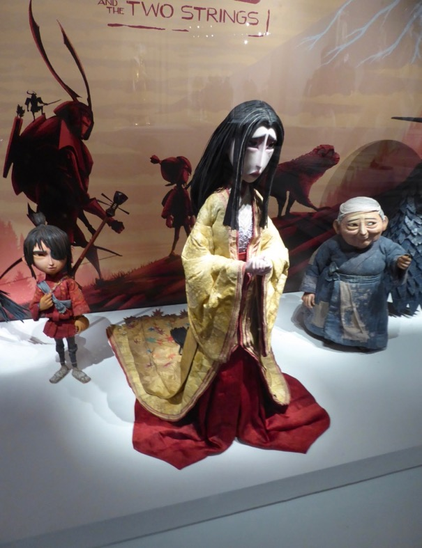 Kubo Two Strings stop-motion Mother puppet