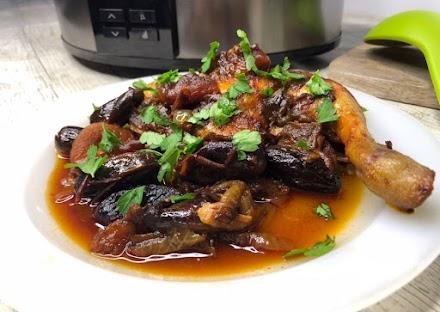 Pollo Marroquí en olla de cocción lenta Chup Chup Matic