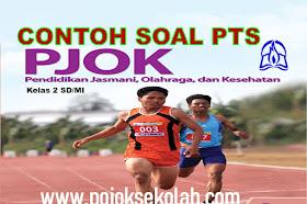 Download Soal PTS Semester 2 PJOK Kelas 2 SD/MI Kurikulum 2013