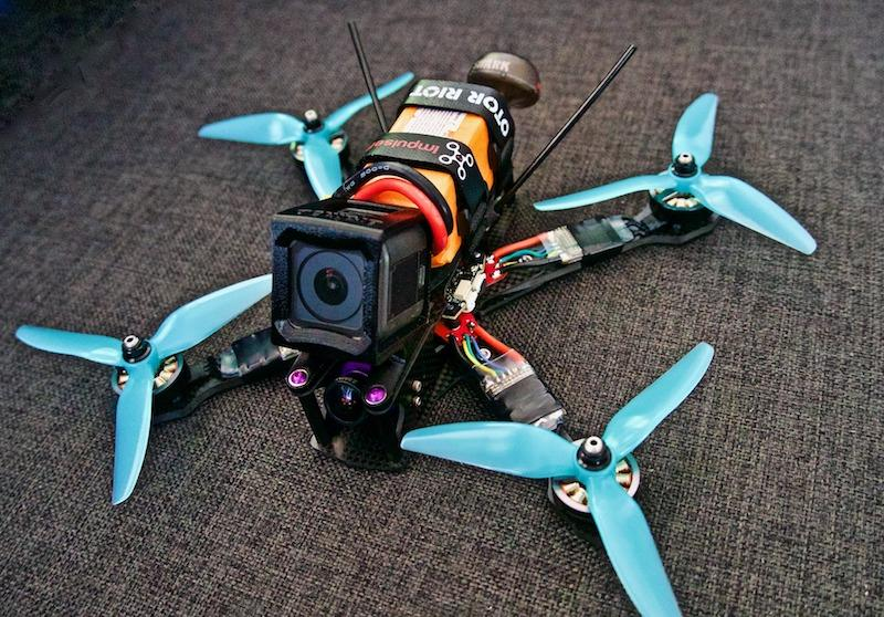 building your own racing drone