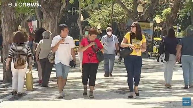 Euronews foca obrigatoriedade da máscara na Madeira