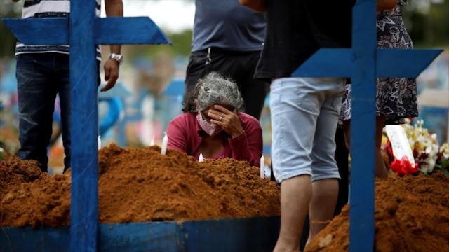Brasil con 78 mil muertos por coronavirus lidera Latinoamérica