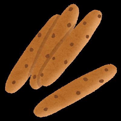 チョコスティックパンのイラスト