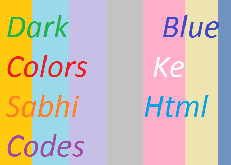 Dark-Blue-Colors-Ke-Sabhi-Html-Codes