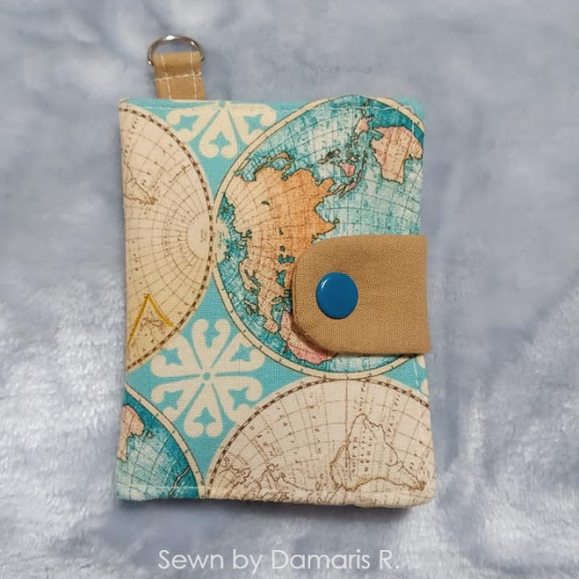 Kalina wallet pattern by AppleGreen Cottage