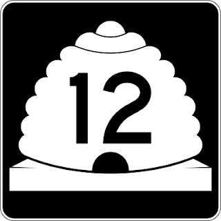 Utah State Highway Signs Use the Beehive Symbol- A State Symbol
