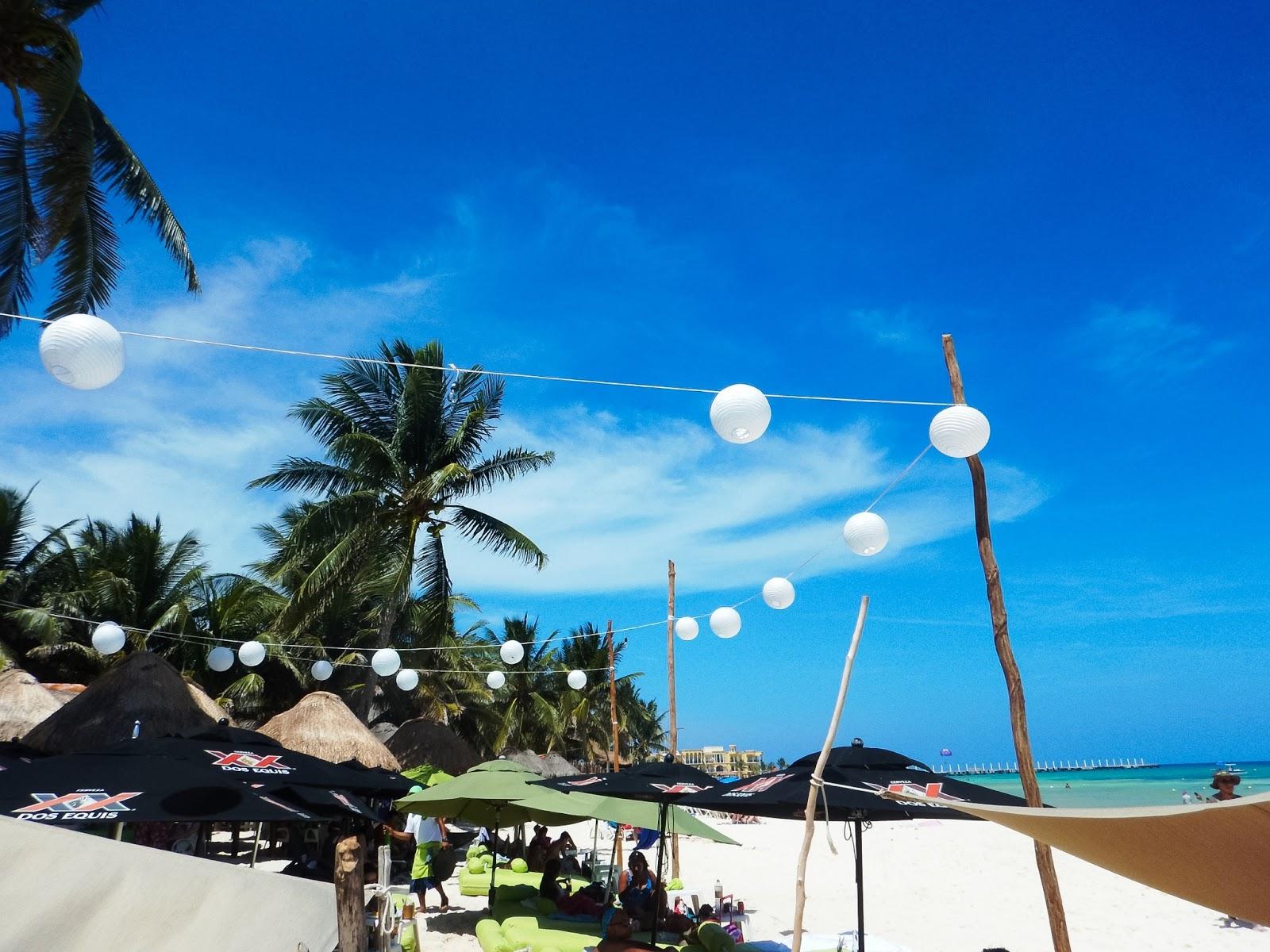 play del carmen beach clubs