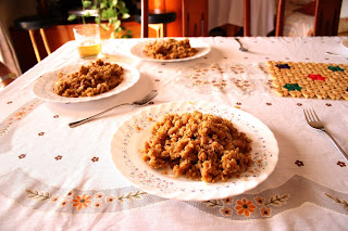 Cycling in Andalucia, Eat Migas to carbo load on your bike tour
