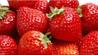 gambar buah strawberry, bahasa arab strawberry