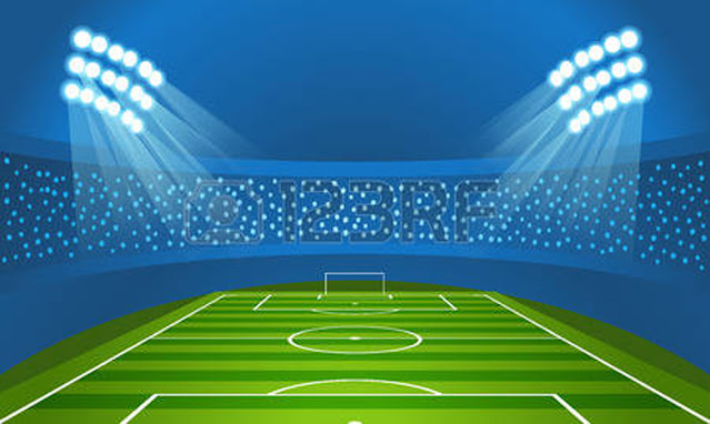gambar stadion vector