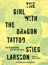 The Girl with the Dragon Tattoo by  Stieg Larsson  bk.1 of the Millennium Trilogy