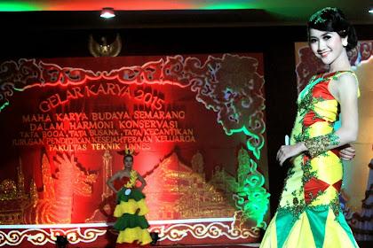 Hadirkan Pesona Semarang dalam Gelar Karya 2015