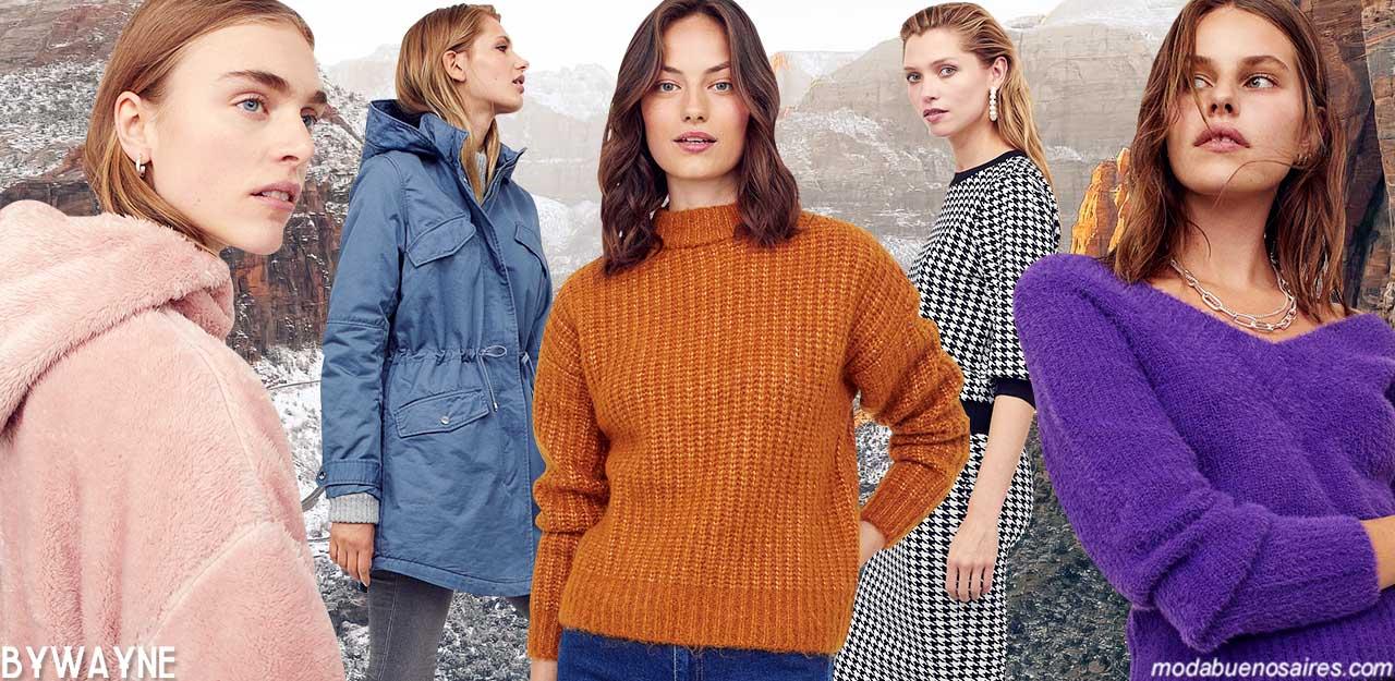 Abrigos otoño invierno 2021 moda mujer