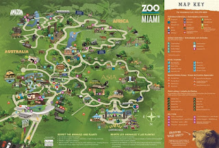 Zoo Miami Full Map