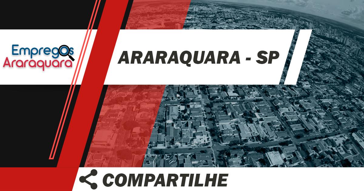 Vendedor Externo / Araraquara - SP / Cód. 3463