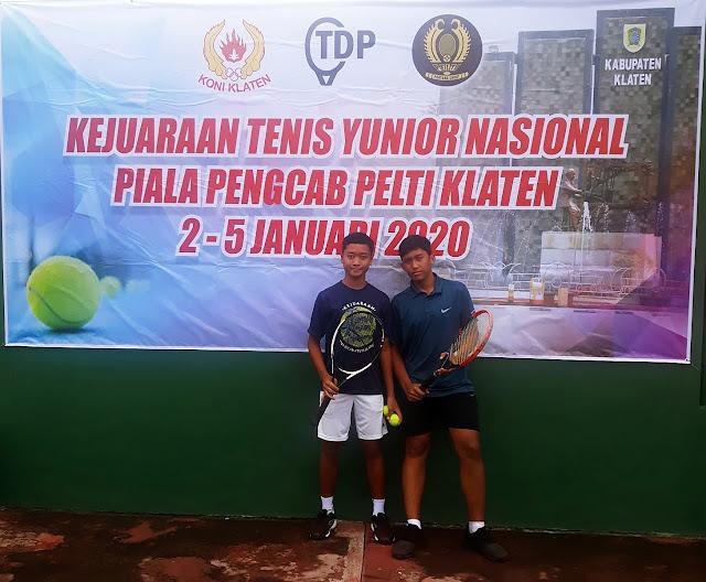 Kejurnas Tenis Yunior Piala Pengkab Pelti Klaten: Hasil Hari Pertama