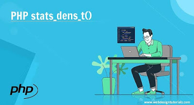 PHP stats_dens_t() Function