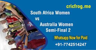 Who will win Today Semi Final 2 match SAW vs AUSW Womens WC 2020