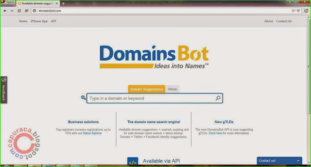 Cara cek domain untuk blog