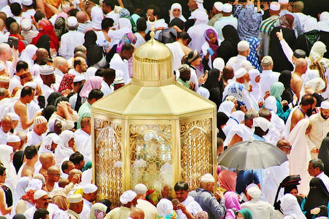 Muslims performing Pilgrimage