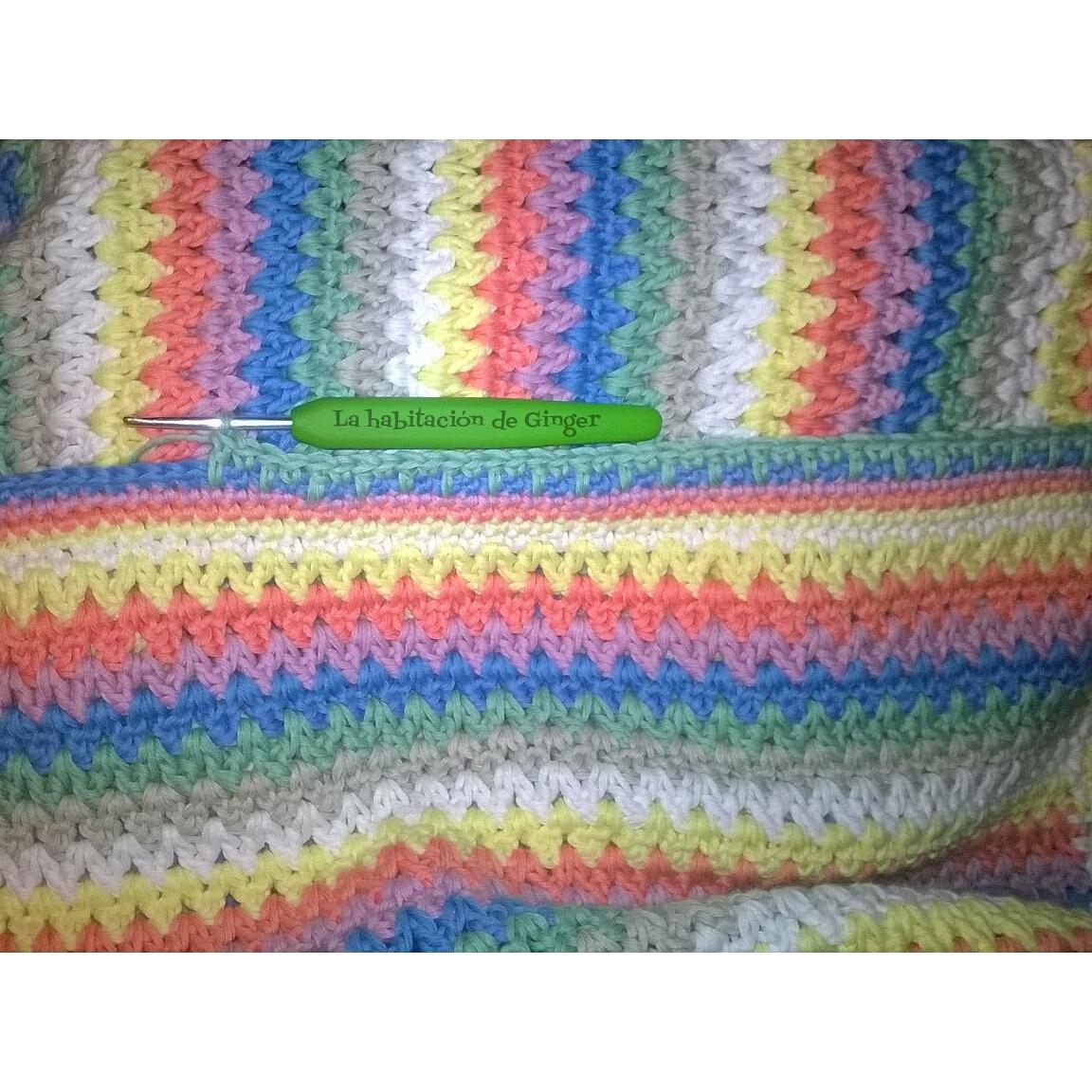 La habitación de Ginger: Manta arco iris.