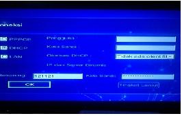 Setting STB (Set Top Box) UseeTV melalui Hotspot dengan VLAN