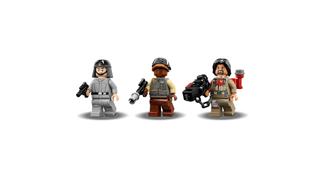 Minifuguras de la serie Rouge One LEGO STAR WARS