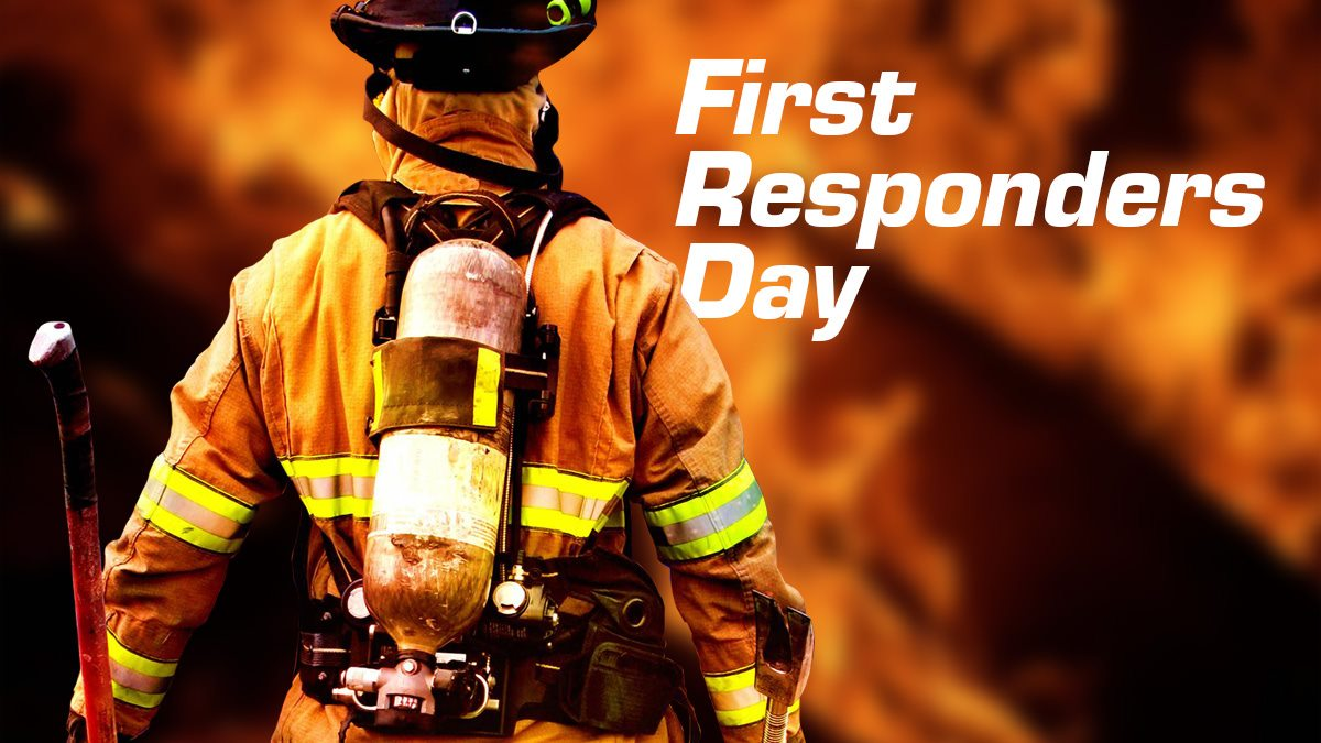 National First Responders Day Wishes Unique Image