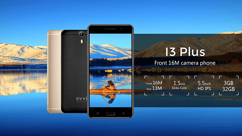 OVVI I3 PLUS features a 16MP selfie camera for PHP 7,390