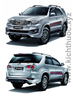 kich thuoc xe fortuner