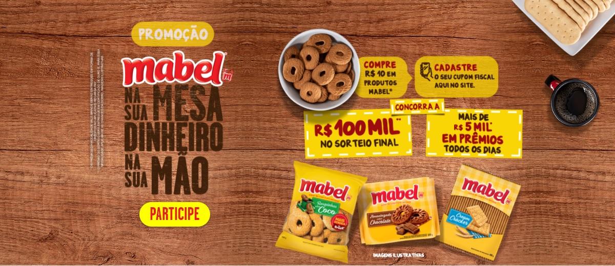 Promoção Biscoitos Mabel 2021