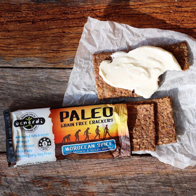 Paleo Crackers and Vegan Cashew Cream Cheese