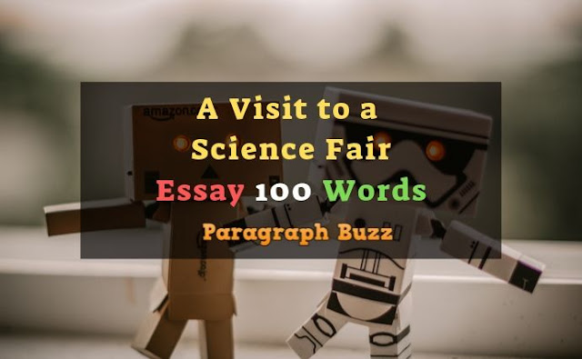 A Visit to a Science Fair Essay in 100 Words
