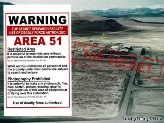 Area 51 Pangkalan Tentera Paling Sulit Amerika Syarikat