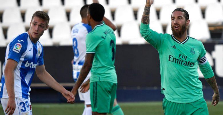 الدوري الإسباني : الريال يكتفي بالتعادل أمام ليجانيس.. والأخير يودع الليجا