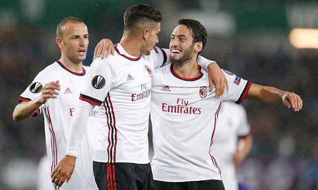 AC Milan vs Austria Wien