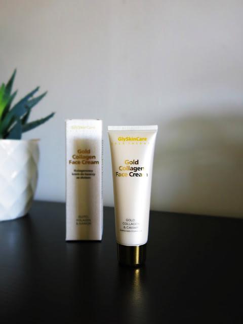 Gold Collager Face Cream - Kolagenowy Krem do twarzy ze złotem i kawiorem - GlySkinCare.